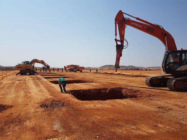 Solar Farm Factory Upington Northern Cape